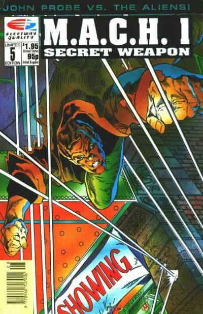 M.A.C.H. 1 #5 VF/NM; Fleetway Quality | save on shipping - details inside