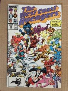 The West Coast Avengers #28