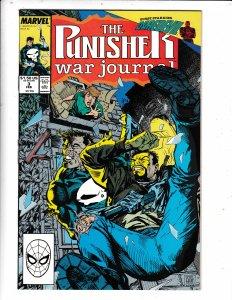 The Punisher War Journal #3 (1989) VF/FN MARVEL COMICS