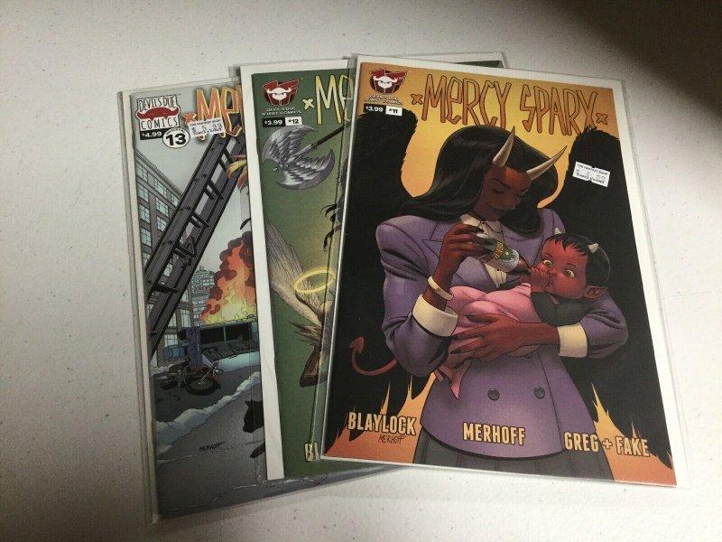 Mercy Sparx 11 12 13 Nm Near Mint Devils Due Comics