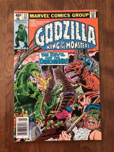 Godzilla: King of the Monsters #22 (Marvel; May, 1979) - Last issue - Fine+