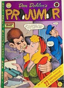 PROJUNIOR#1 VF 1971 R. CRUMB KITCHEN SINK UNDERGROUND COMICS