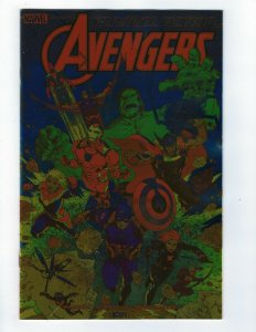 Marvel Action Avengers # 1 Variant 1:100 Foil Cover All Ages NM IDW