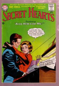 SECRET HEARTS #98 1964- DC COMICS ROMANCE-AMY AMES FN