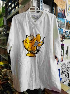 Camiseta con la mascota de El Boletin - El Boletinico. Talla XXL