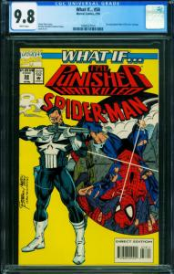 What If #58 CGC 9.8 ASM #129 Punisher kills Spider-Man 1994557014