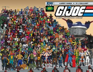 G.I. Joe: A Real American Hero #212 EC ~ Exclusive Variant COBRA cover