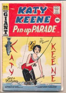 Katy Keene Pinup Parade #8, Fine- (Actual scan)