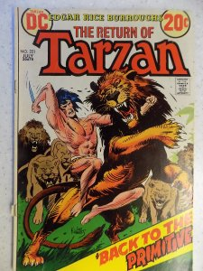 TARZAN OF THE APES # 221 DC KUBERT