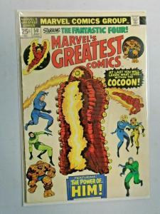 Marvel's Greatest Comics #50 reprint Fantastic Four #67 4.0 VG (1974)