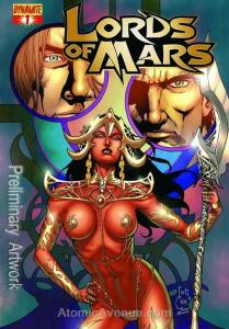 Lords of Mars (Vol. 1) #2B VF/NM; Dynamite | save on shipping - details inside