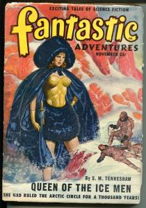 FANTASTIC ADVENTURES 11/1949-ZIFF-DAVIS-PULP SCI-FI-JONES-TENNESHAW-BROWNING-fr