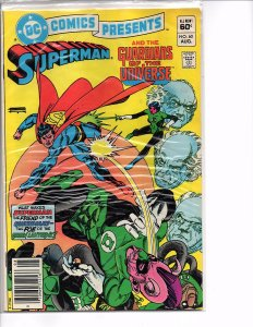 DC Comics Presents #60 Superman and The Guardians of the Universe VF