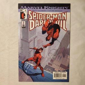 Spider-Man Daredevil 1 Very Fine/Near Mint