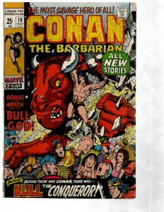 Conan The Barbarian # 10 VF Marvel Comic Book Barry Smith Red Sonja Kull PG2
