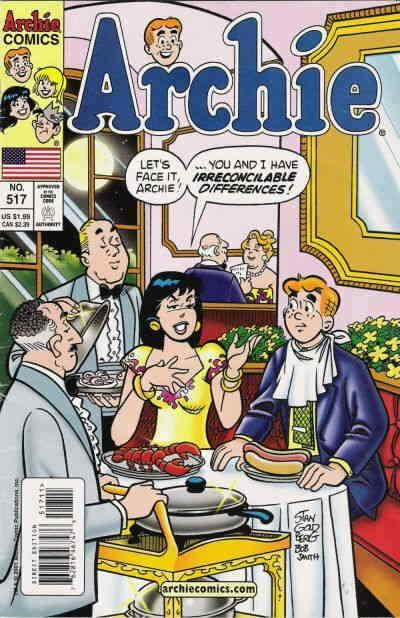 Archie #517 VF/NM; Archie | save on shipping - details inside