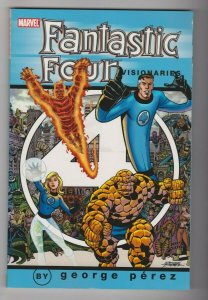 FANTASTIC FOUR - VISIONARIES VOL. 1 by GEORGE PEREZ 2005 MARVEL COMICS