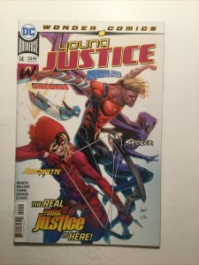 Young Justice 14 Near Mint Nm Dc Comics