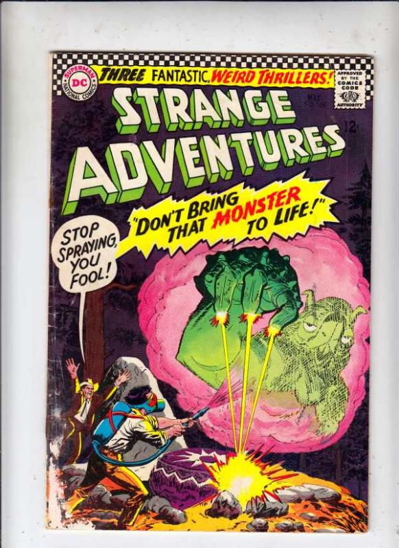Strange Adventures #188 (May-66) GD Affordable-Grade