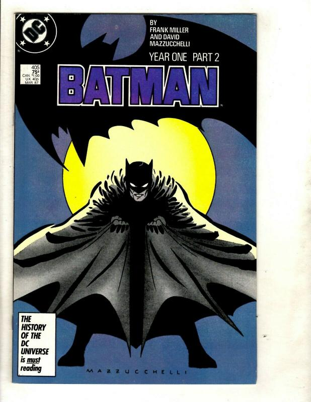 Batman YEAR ONE Complete DC Comics Series # 404 405 406 407 Joker Gotham SM8