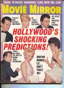 Movie Mirror-Liz Taylor-Sandra Dee-Debbie Reynolds-July-1963