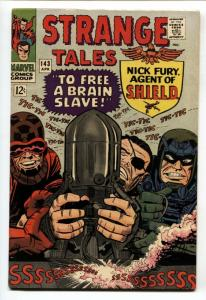STRANGE TALES #143-comic book NICK FURY/DR. STRANGE-MARVEL-JACK KIRBY FN+