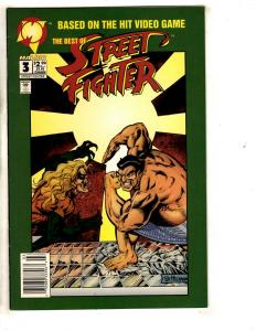 Street Fighter # 3 NM Malibu Comic Book Video Game E-Honda Super-Heroes SS10