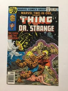 Marvel Two-In-One 49 Nm Near Mint