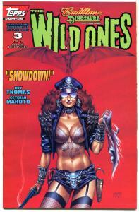 WILD ONES #3, VF/NM, Cadillacs, Dinosaurs, Joseph Linsner ,1994, more JML store