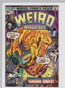 Weird Wonder Tales #14 (Feb 1976) 5.5 FN- Marvel Horror