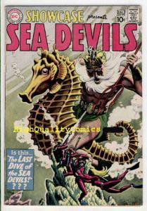 SHOWCASE #29, FN, 3rd Sea Devils, Russ Heath, 1960,Silver age