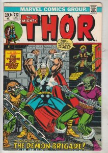 Thor, the Mighty #213 (Jul-73) VF High-Grade Thor