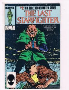 The Last Starfighter #2 FN Marvel Copper Age Limited Series Comic Book DE1