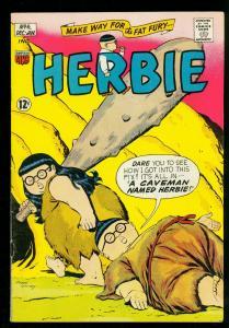 Herbie Comics #6 1964- ACG Comics- Caveman cover-Ave Gardner - FN