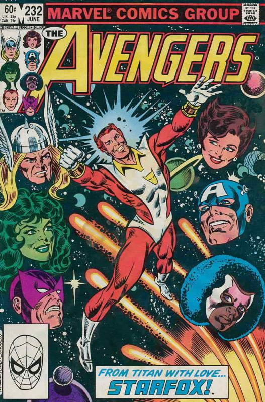Avengers, The #232 VF; Marvel | save on shipping - details inside