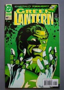 Green Lanern  (2nd Series)  #49  VF+  Actual Photo