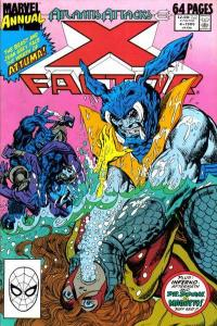 X-Factor (1986 series) Annual #4, VF (Stock photo)