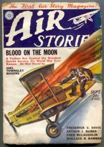 Air Stories Pulp September 1929- Blood On The Moon