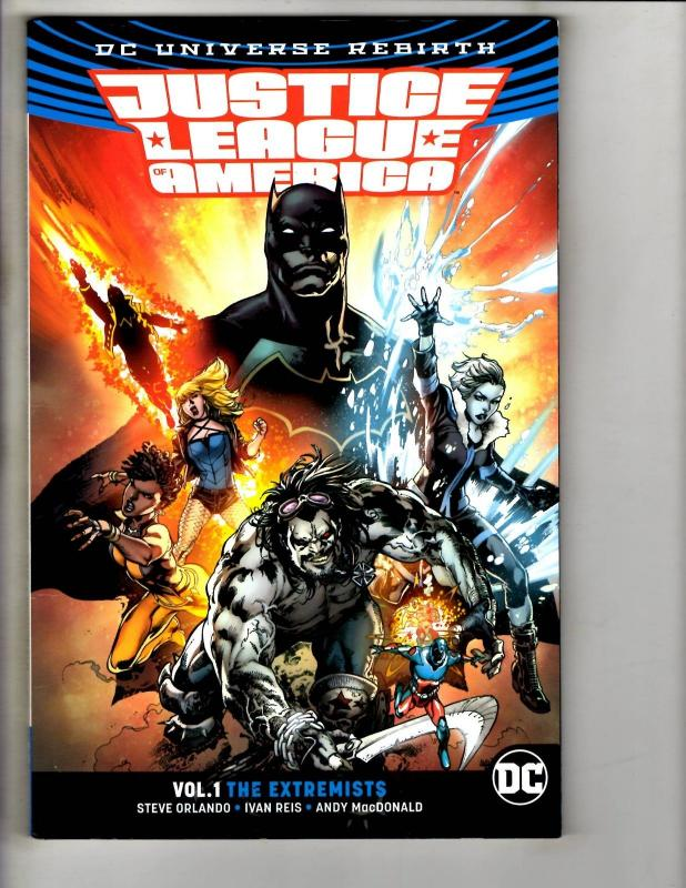 Justice League Of America Vol #1 The Extremists DC Comics Graphic Novel TPB J302