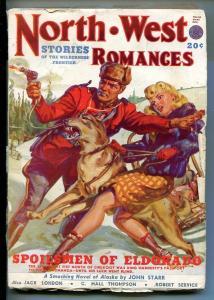 NORTHWEST ROMANCES-FALL1949 PULP FICTION-RCMP-GGA-LONDON-SPICY-good