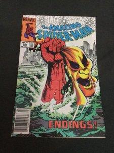 Amazing Spider-Man 251 Nm Near Mint Newsstand Editon Marvel Comics