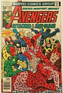 AVENGERS#161 VF 1977 MARVEL BRONZE AGE COMICS
