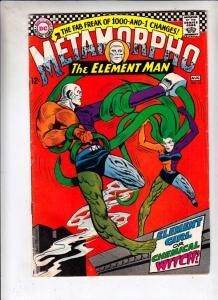 Metamorpho the Element Man #13 (Aug-67) VG Affordable-Grade Metamorpho, Simon...