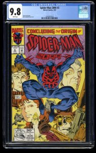 Spider-Man 2099 #3 CGC NM/M 9.8 White Pages