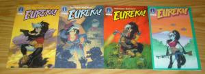 Eureka! #1-4 VF/NM complete series - radio comix - anthropomorphics set 2 3 lot