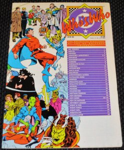 Who's Who: The Definitive Directory of the DC Universe #16 (1986)