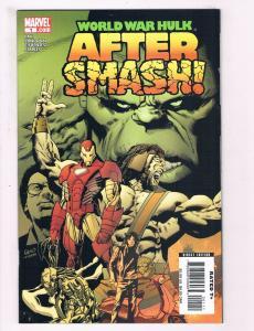 World War Hulk After Smash! # 1 NM 1st Print Marvel Comic Book Iron Man Thor S62