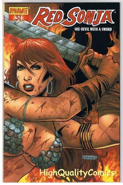 RED SONJA #31, NM, Neves, Femme, Robert Howard, 2005, more RS in store