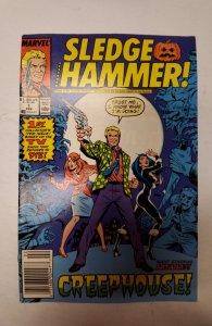 Sledge Hammer #1 (1988) NM Marvel Comic Book J667