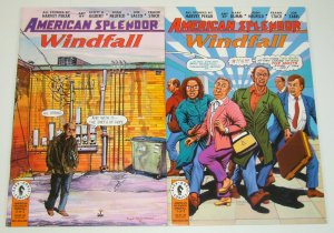 American Splendor: Windfall #1-2 VF/NM complete series HARVEY PEKAR gary dumm